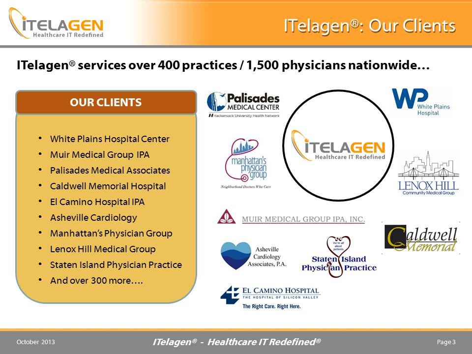 ITelagen®: Our Clients