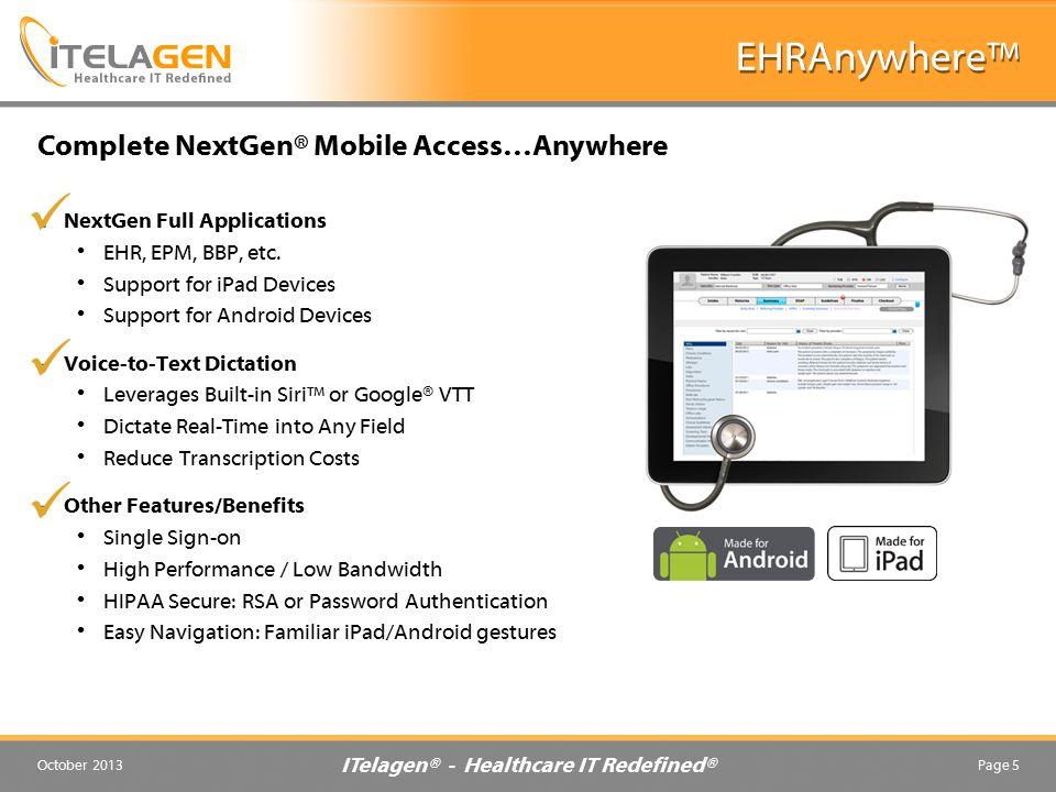 ITelagen® - Healthcare IT Redefined®