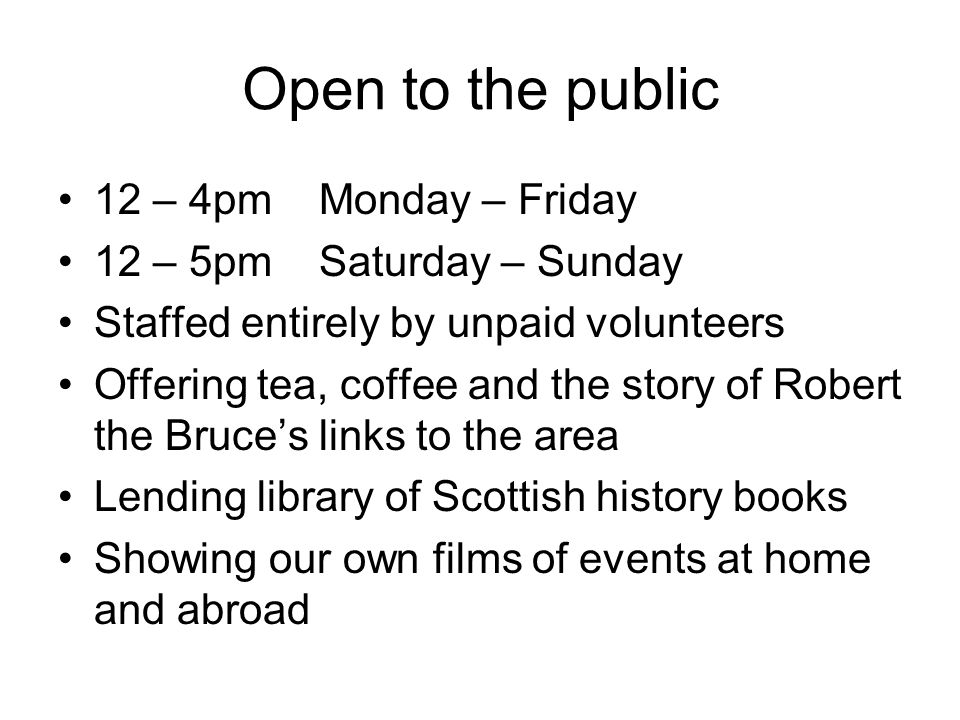 Open to the public 12 – 4pm Monday – Friday 12 – 5pm Saturday – Sunday