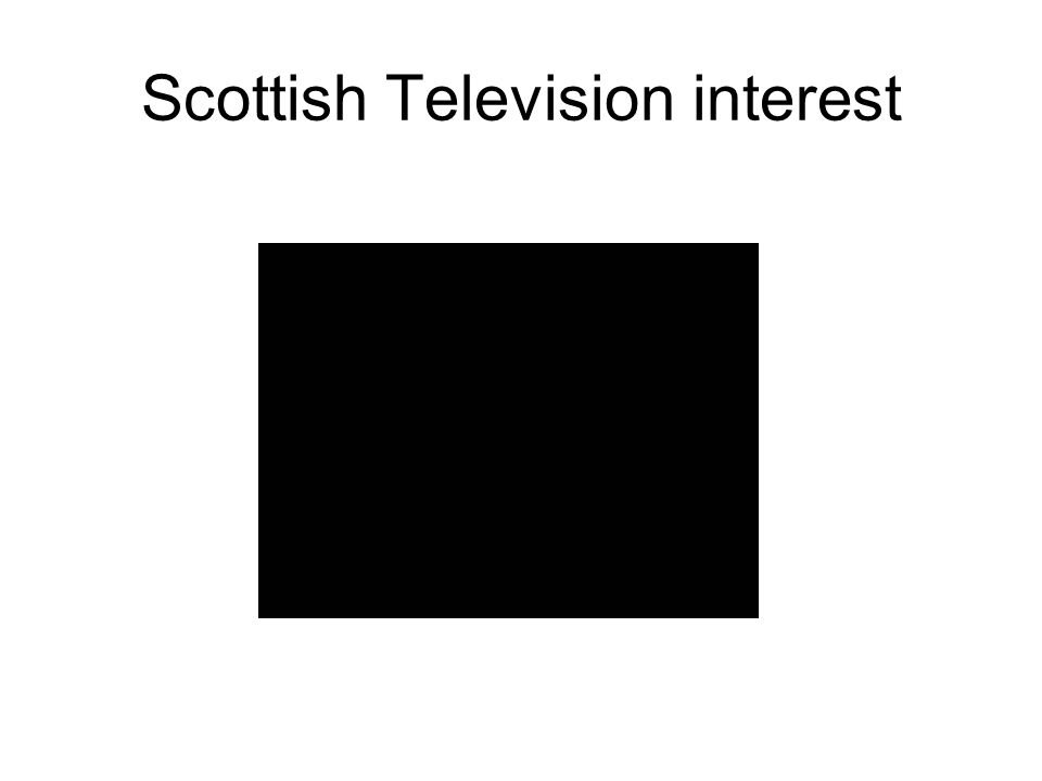 Scottish Television interest