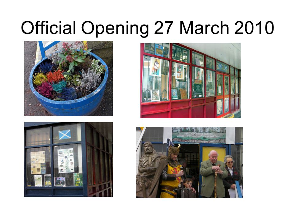 Official Opening 27 March 2010
