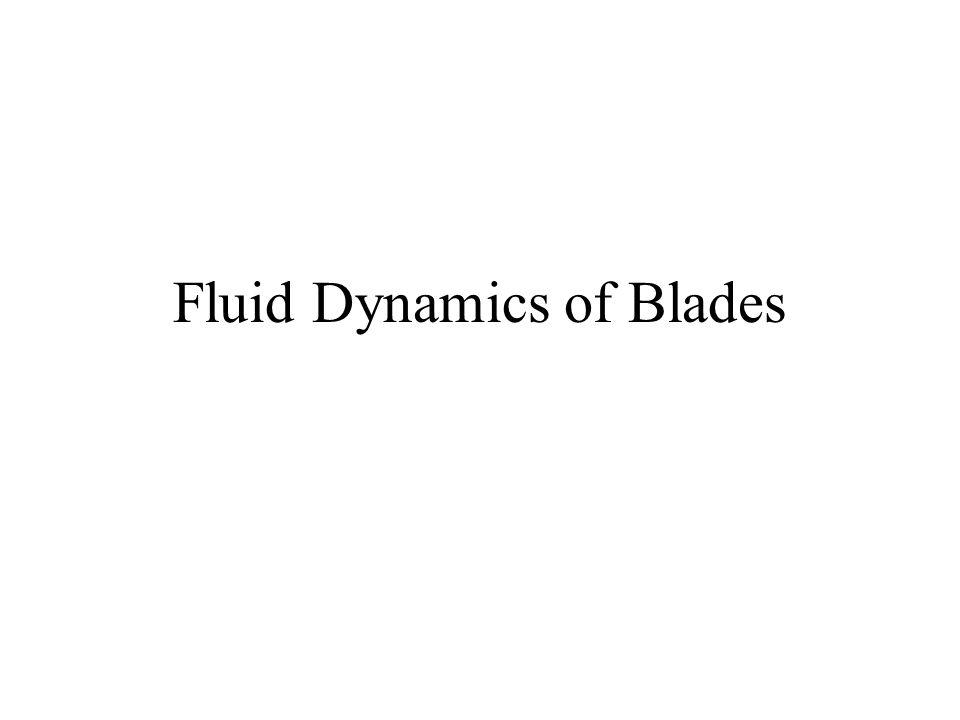 Fluid Dynamics of Blades