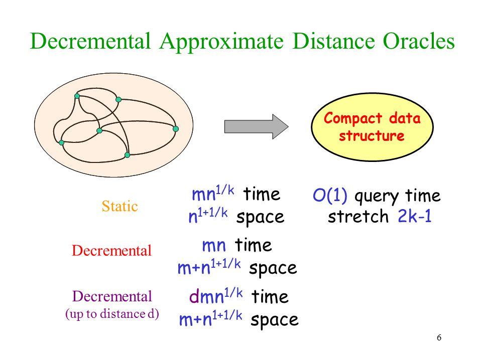 Decremental Approximate Distance Oracles