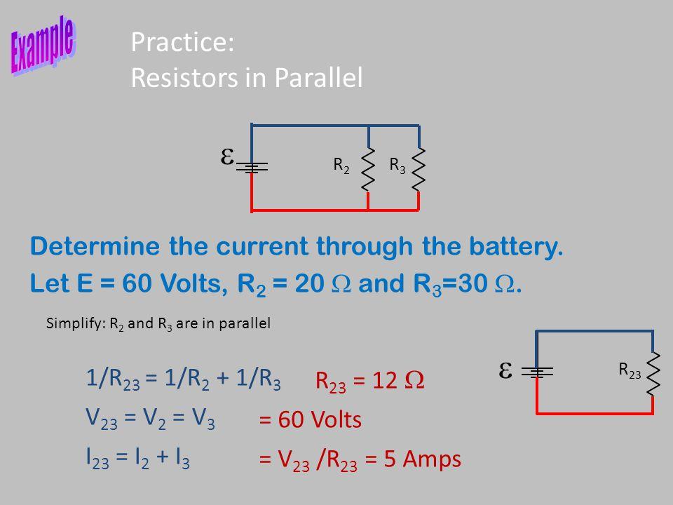 Practice: Resistors in Parallel