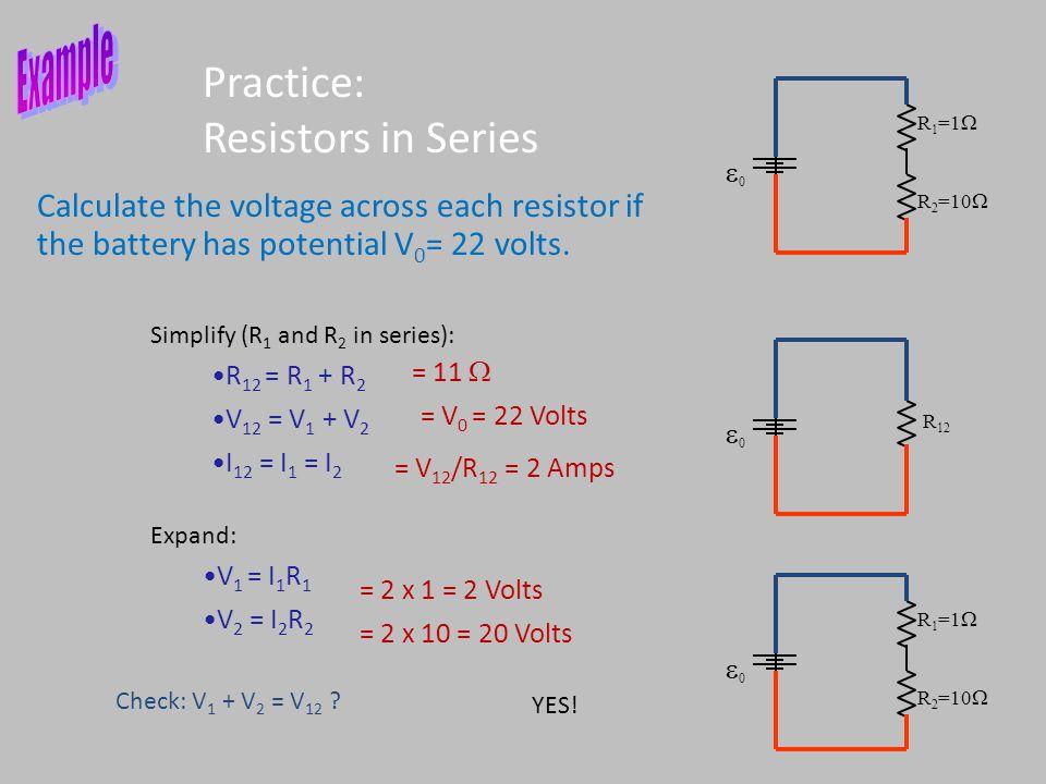 Practice: Resistors in Series