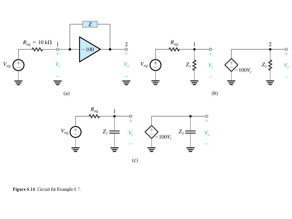 sedr42021_0616a.jpg Figure 6.16 Circuit for Example 6.7.