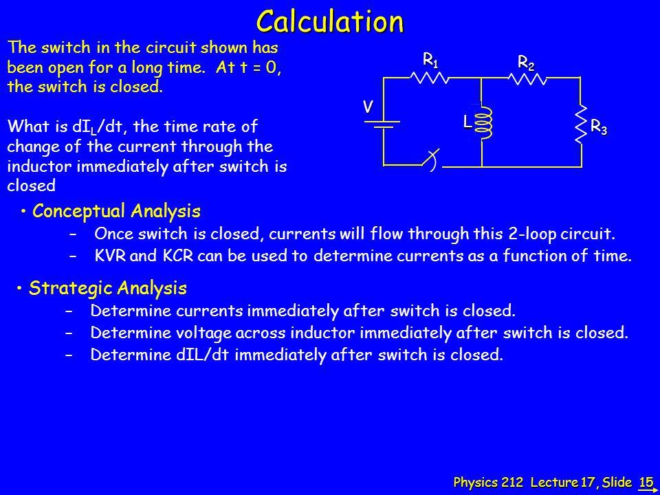 Calculation Conceptual Analysis Strategic Analysis