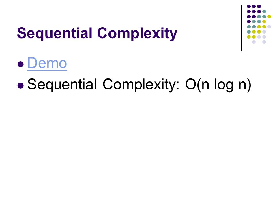Sequential Complexity