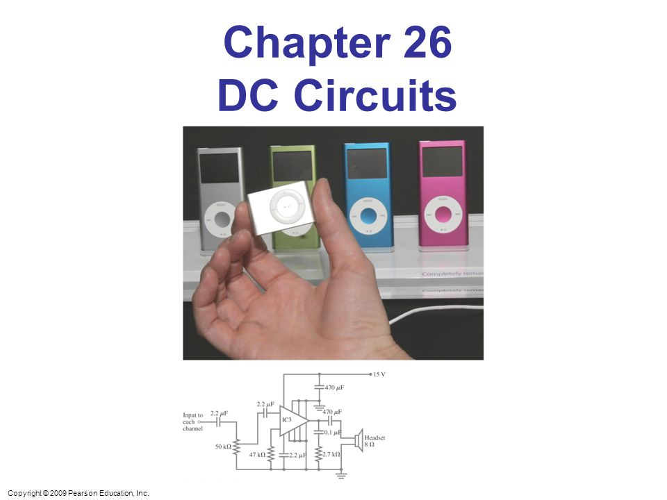 Chapter 26 DC Circuits