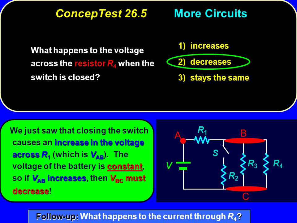 ConcepTest 26.5 More Circuits