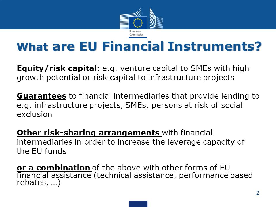 What are EU Financial Instruments
