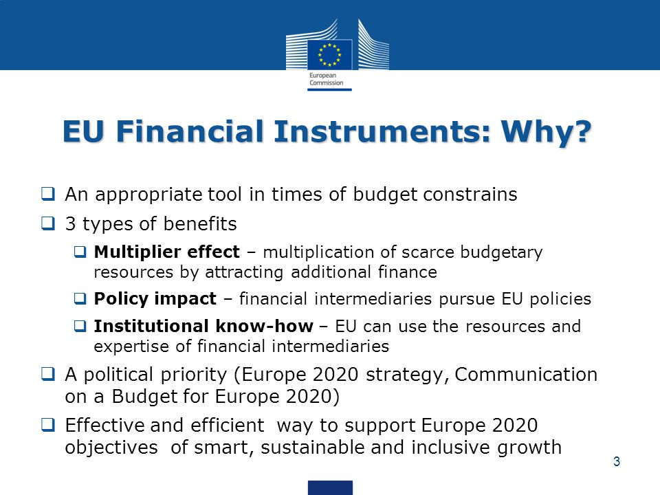 EU Financial Instruments: Why