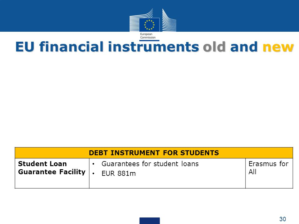 DEBT INSTRUMENT FOR STUDENTS
