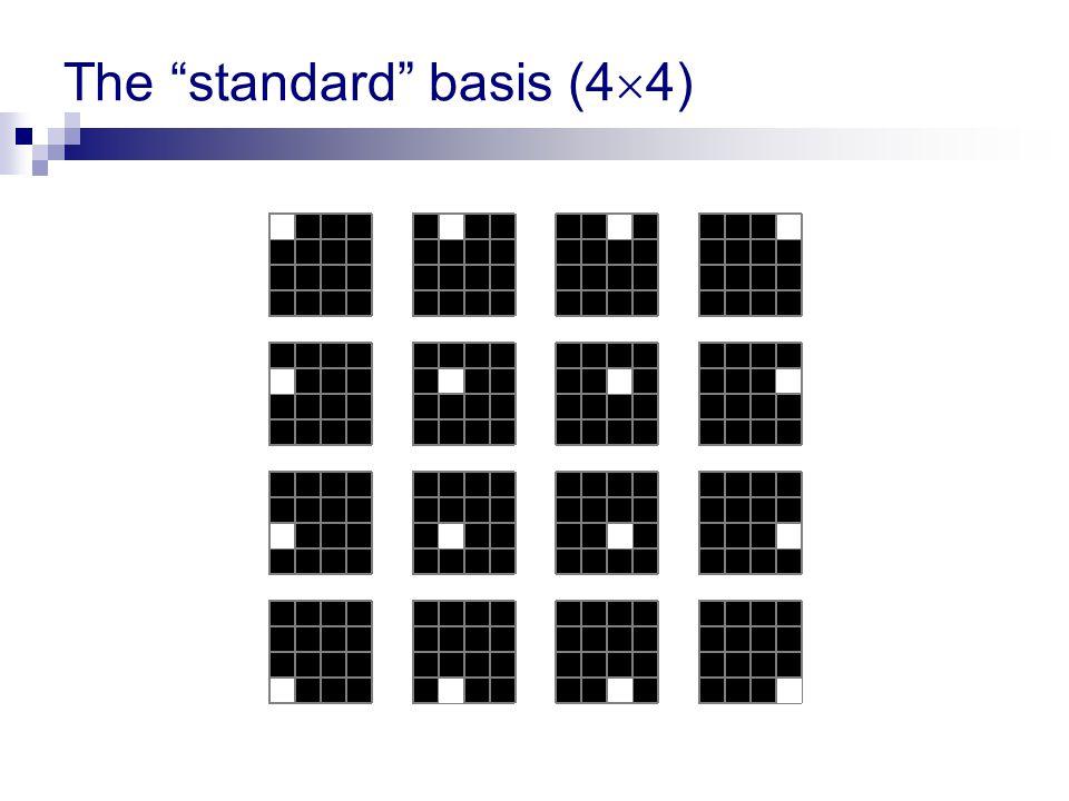 The standard basis (44)
