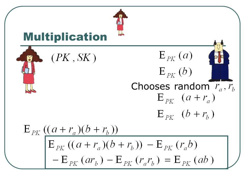 Multiplication Chooses random