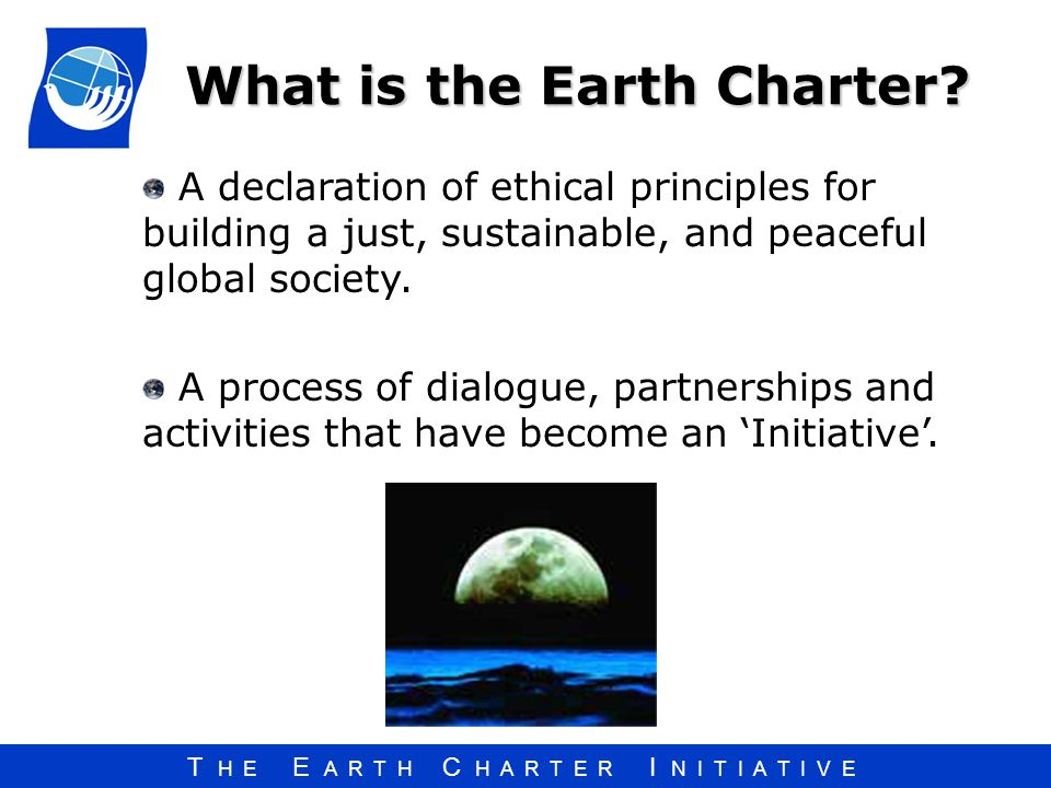 What is the Earth Charter