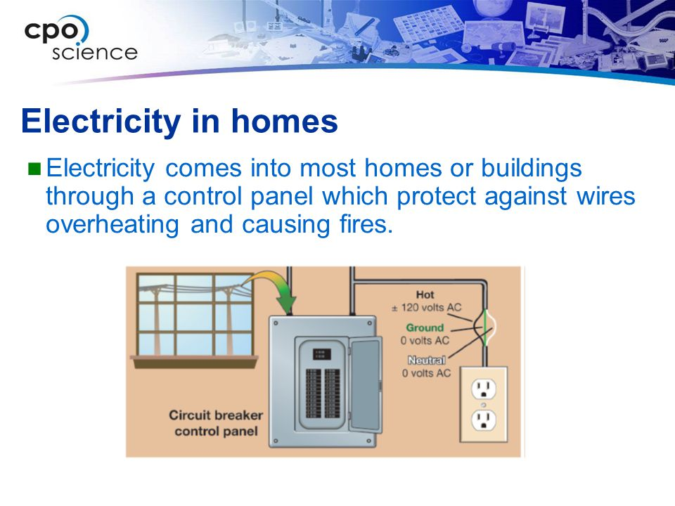 Electricity in homes