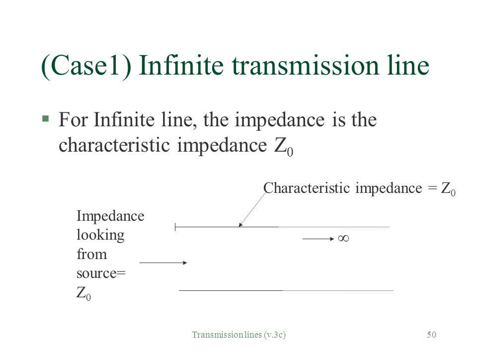 (Case1) Infinite transmission line