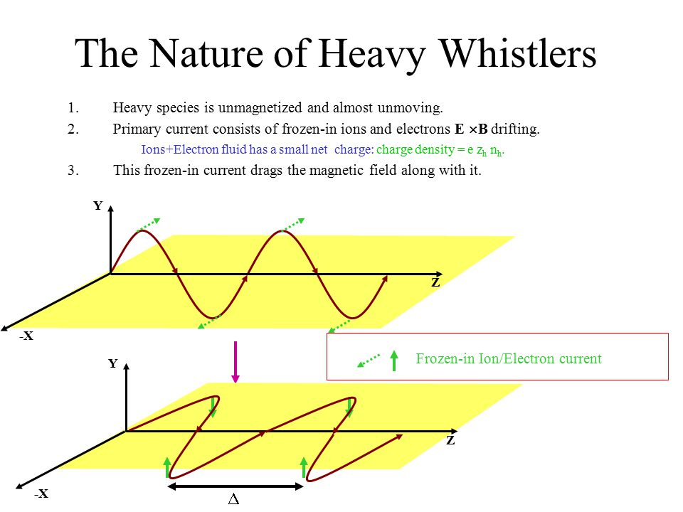 The Nature of Heavy Whistlers