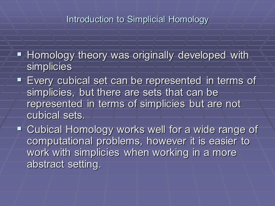 Introduction to Simplicial Homology