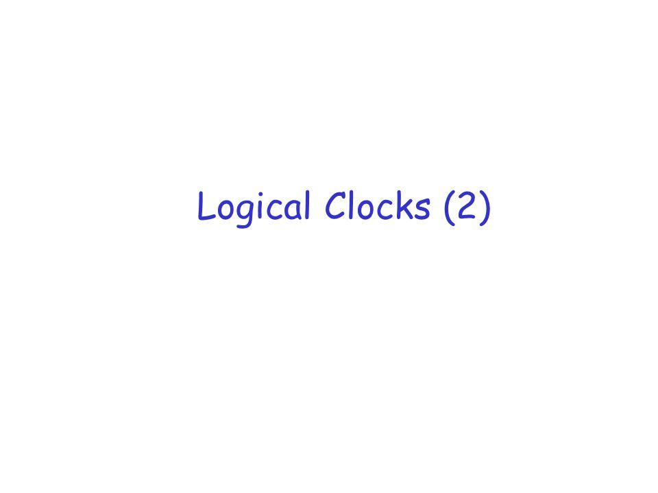Logical Clocks (2)