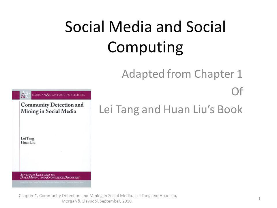 Social Media and Social Computing