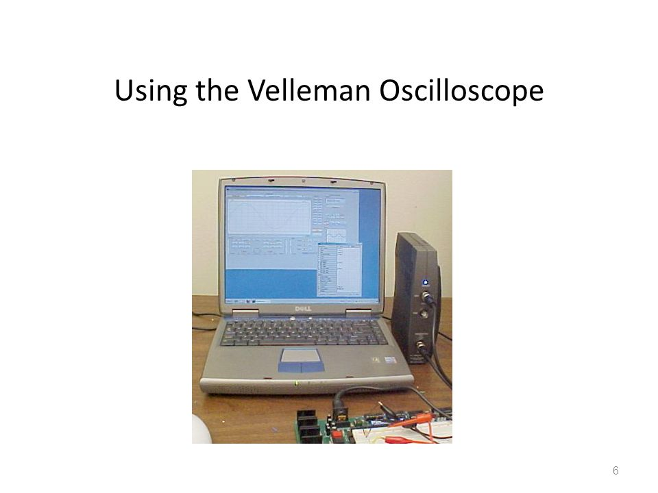 Using the Velleman Oscilloscope