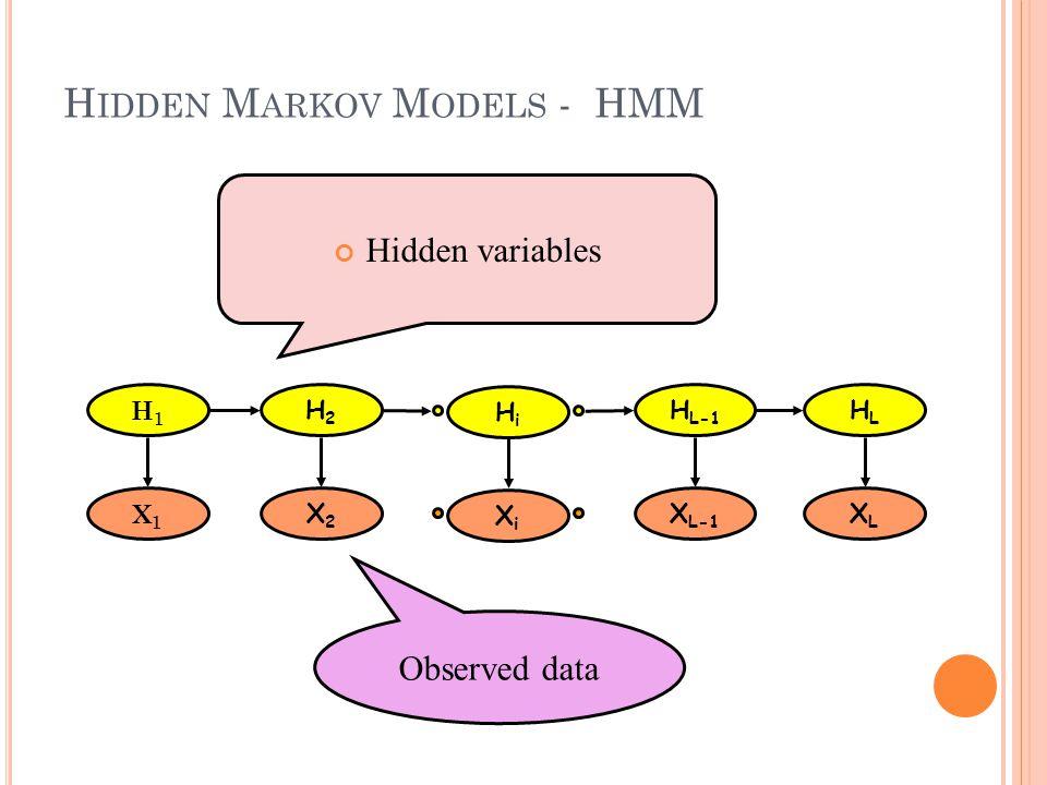 Hidden Markov Models - HMM
