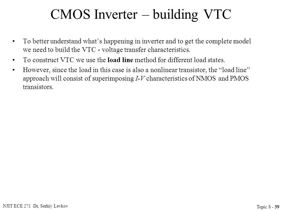 CMOS Inverter – building VTC