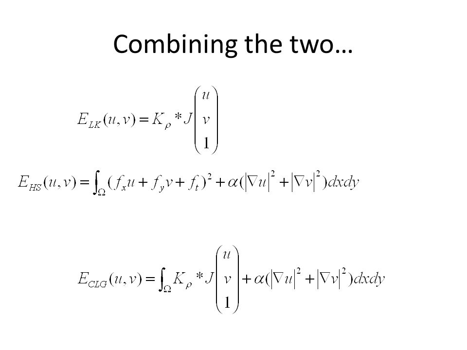 Combining the two…