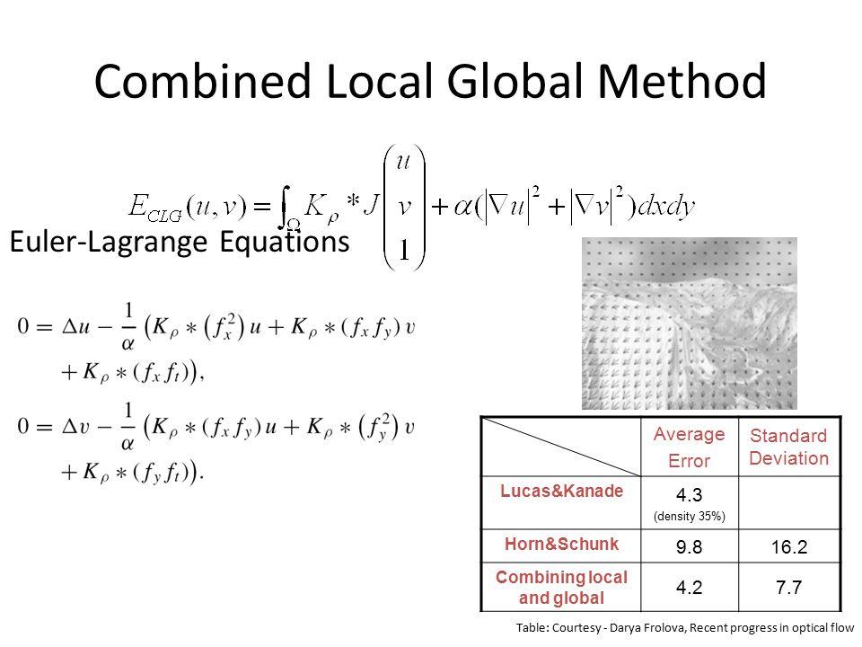Combined Local Global Method