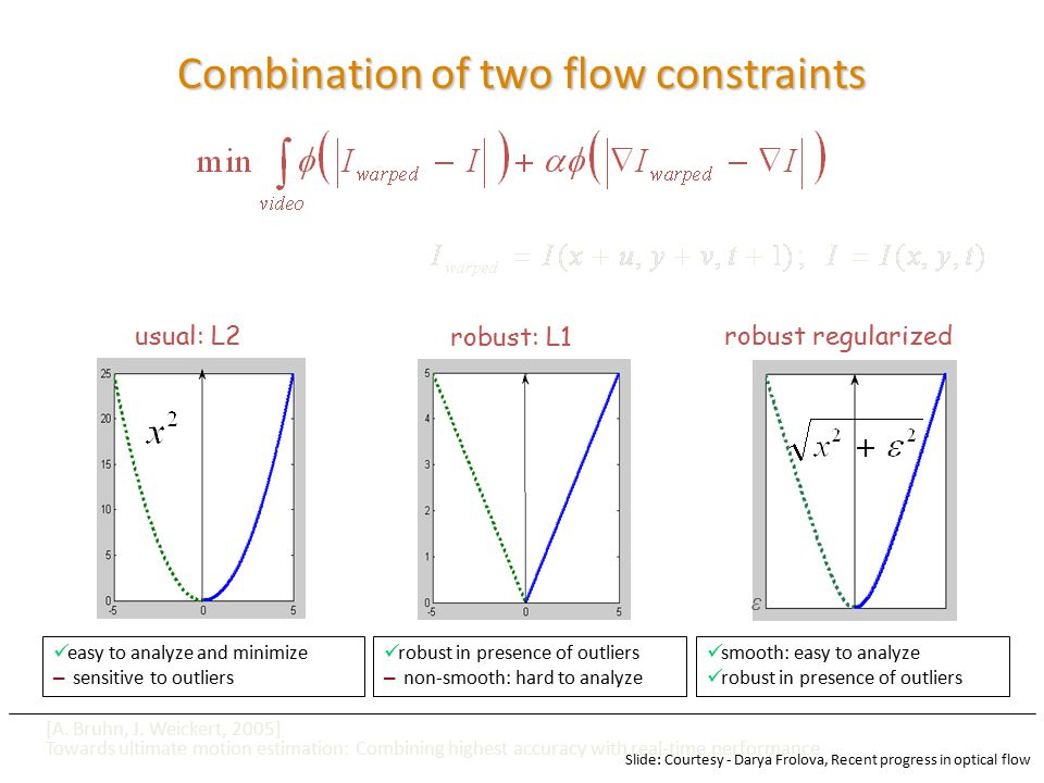 Combination of two flow constraints