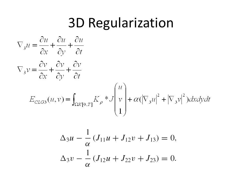 3D Regularization