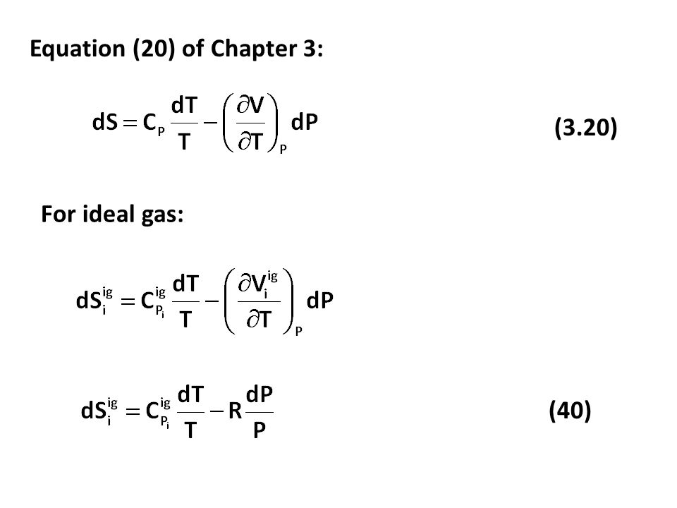 Equation (20) of Chapter 3: