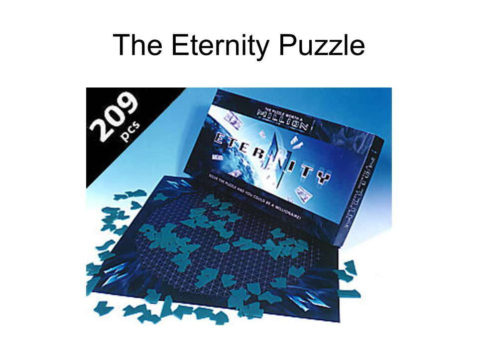 The Eternity Puzzle