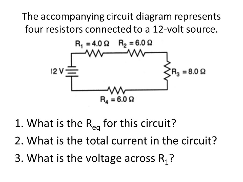1. What is the Req for this circuit