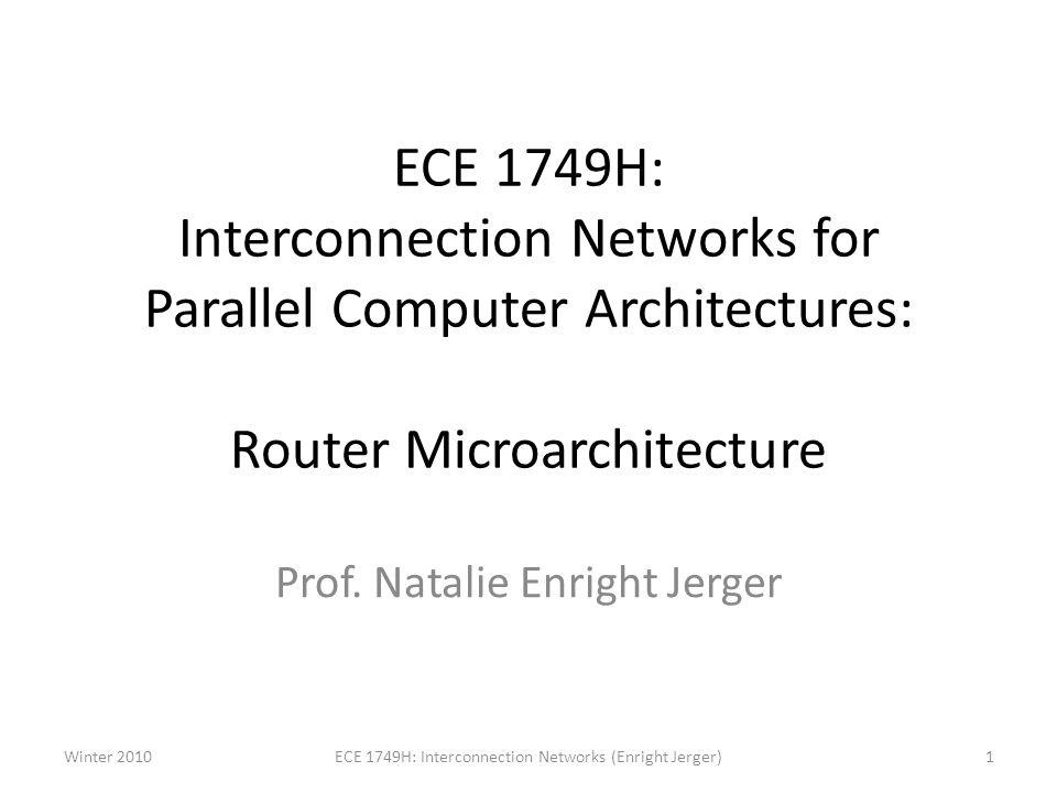 Prof. Natalie Enright Jerger