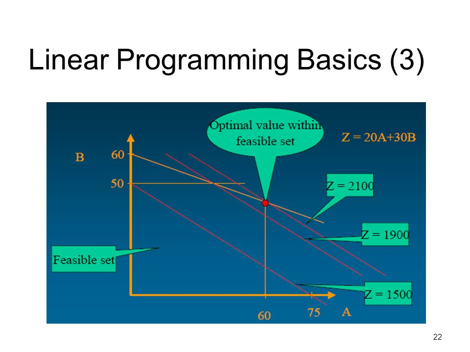 Linear Programming Basics (3)