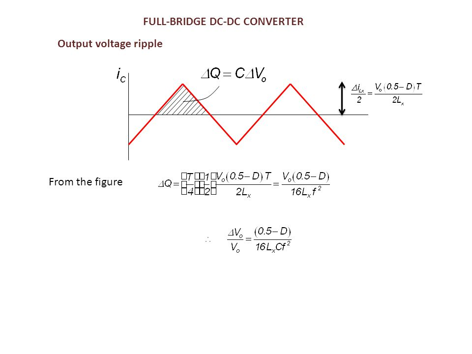 FULL-BRIDGE DC-DC CONVERTER