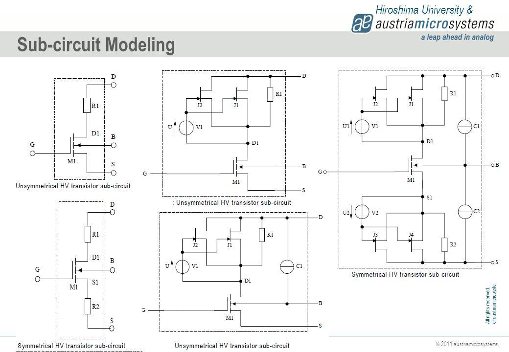 Sub-circuit Modeling Hiroshima University &