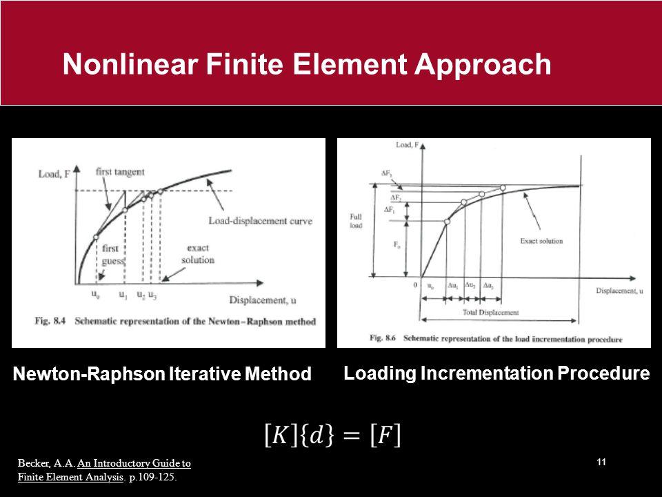 Nonlinear Finite Element Approach