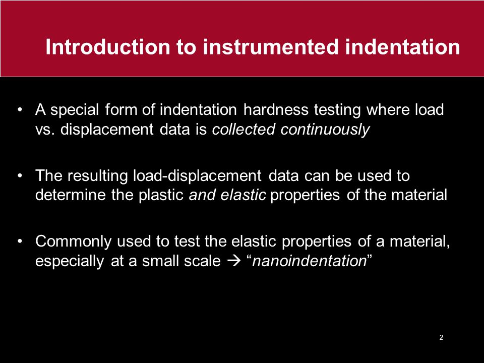Introduction to instrumented indentation