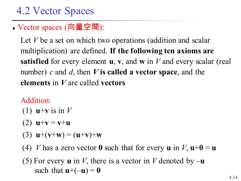 SparkNotes SAT Physics Whats a Vector