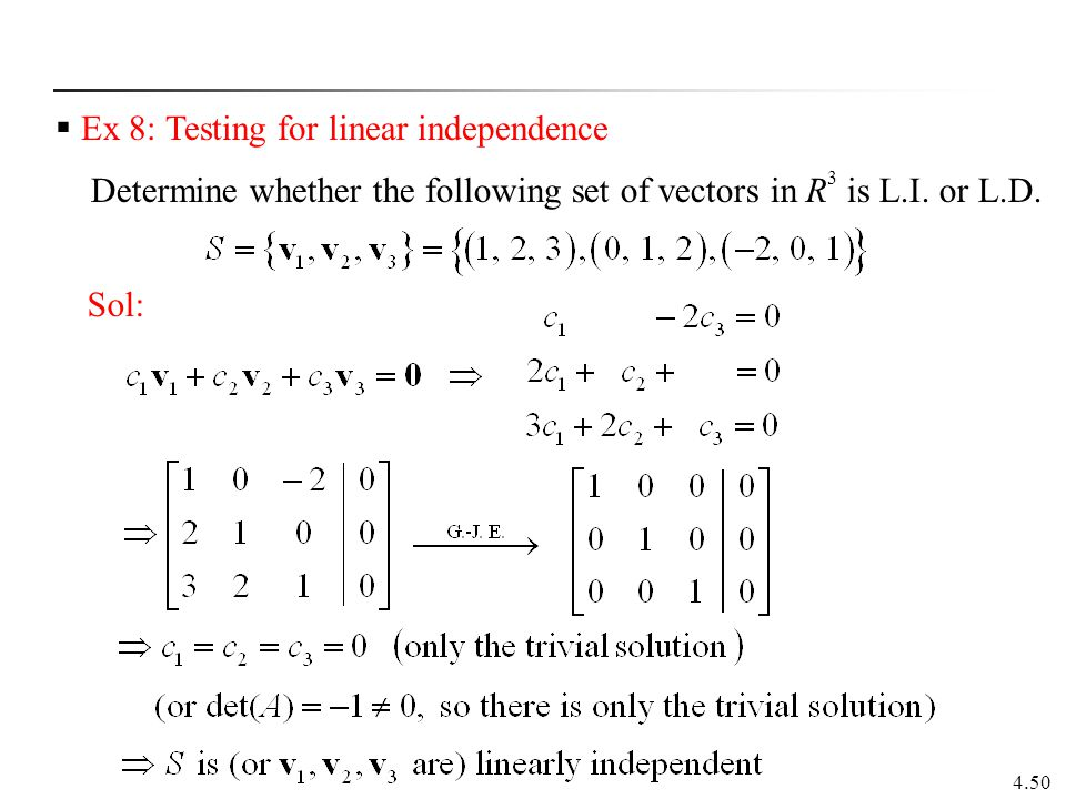Chapter 4 Vector Spaces 4.1 Vectors in Rn 4.2 Vector Spaces - ppt ...