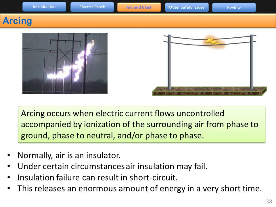 Normally, air is an insulator.