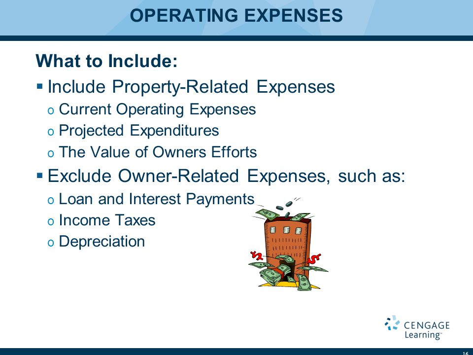 Include Property-Related Expenses