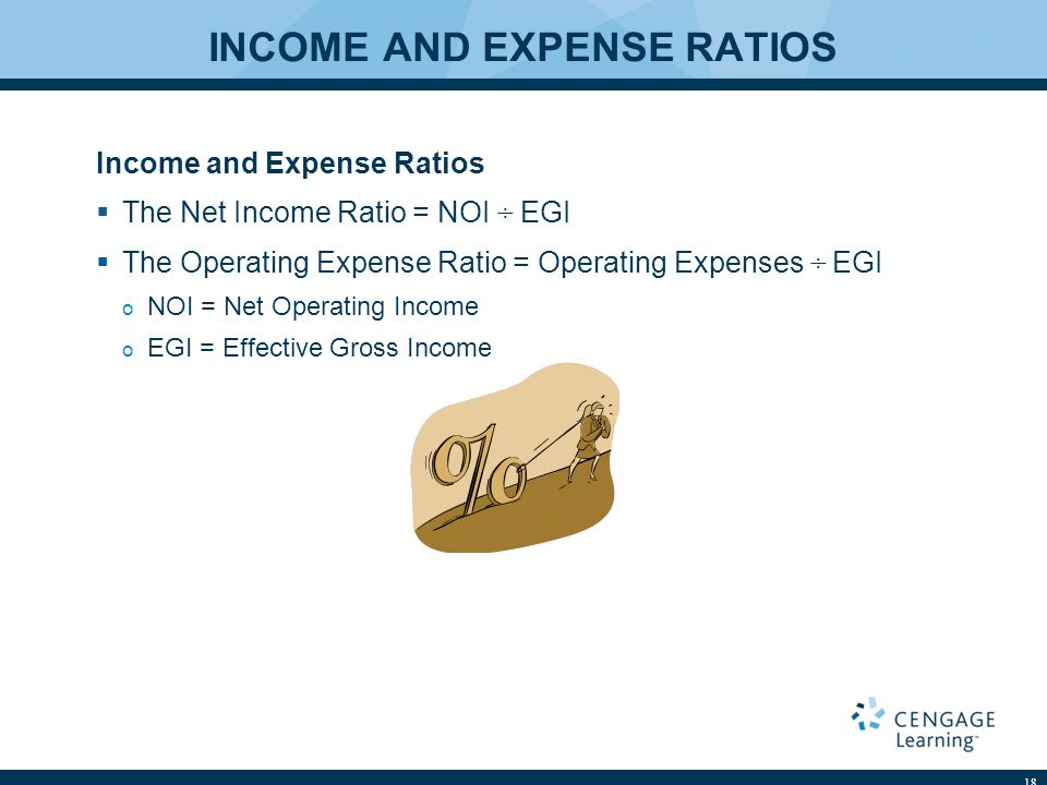 INCOME AND EXPENSE RATIOS