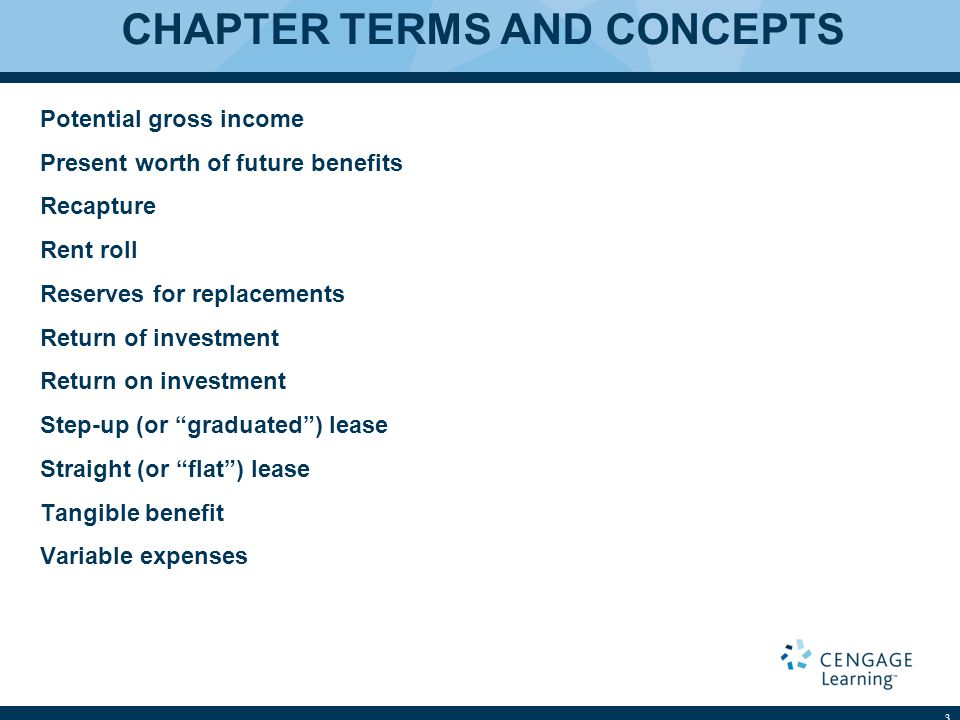 CHAPTER TERMS AND CONCEPTS