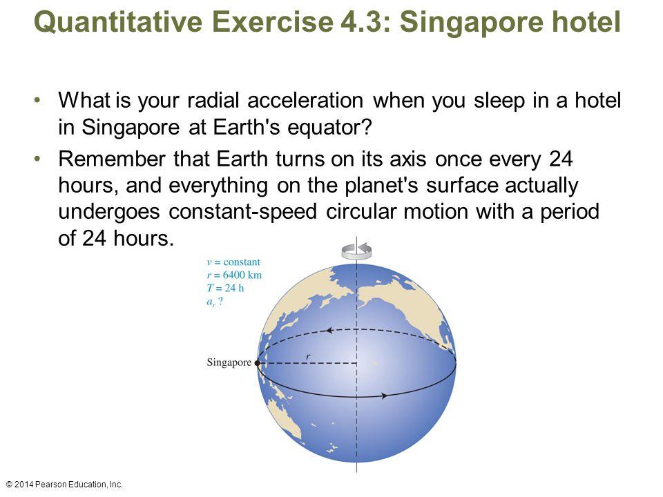 Quantitative Exercise 4.3: Singapore hotel