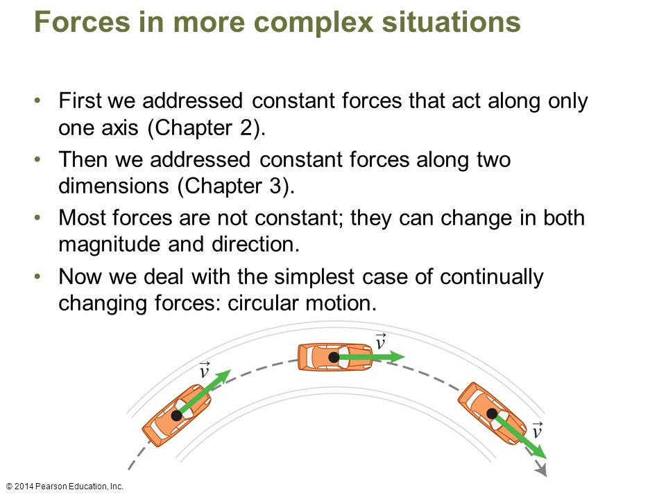 Forces in more complex situations